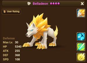 Belladeon Summoners War Database
