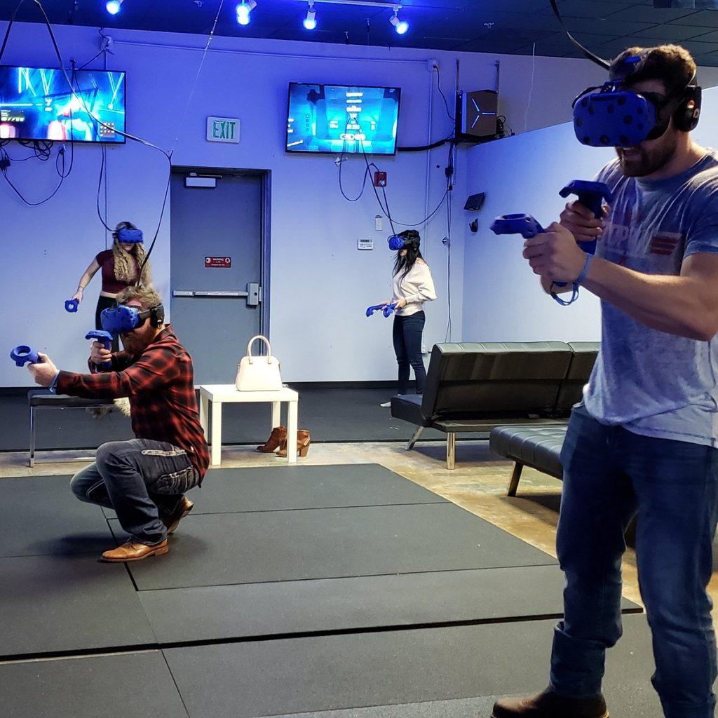 Playing Zino VR Games